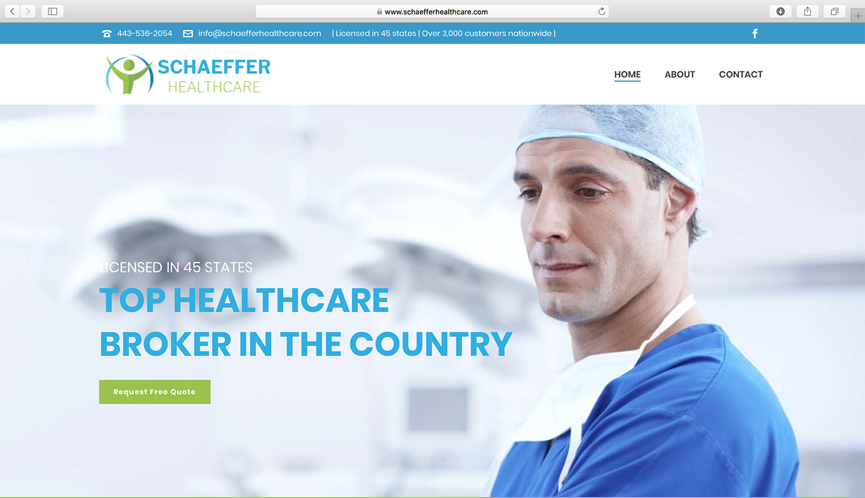 schaeffer-healthcare-website-design