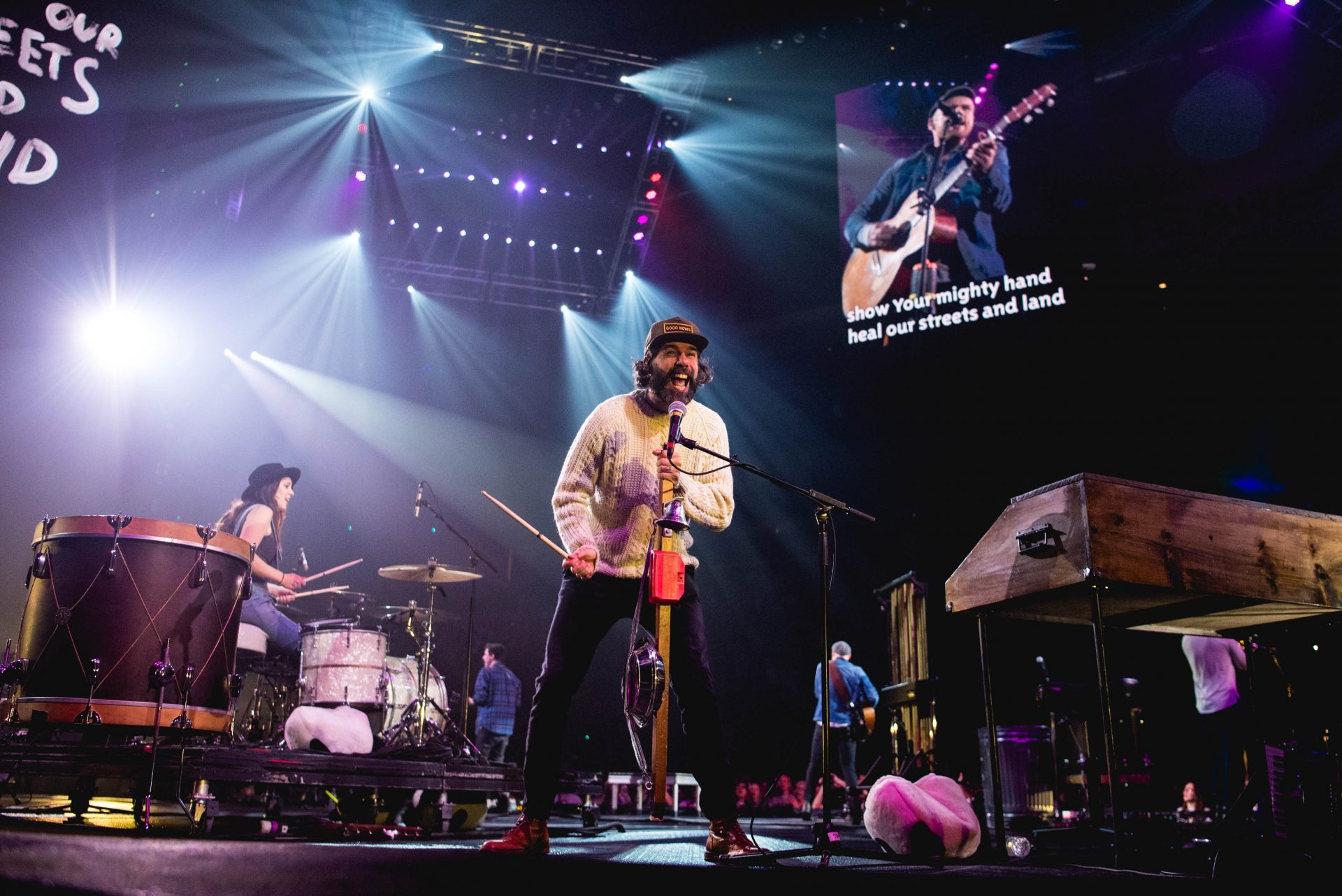 Rend Collective on Winter Jam Tour