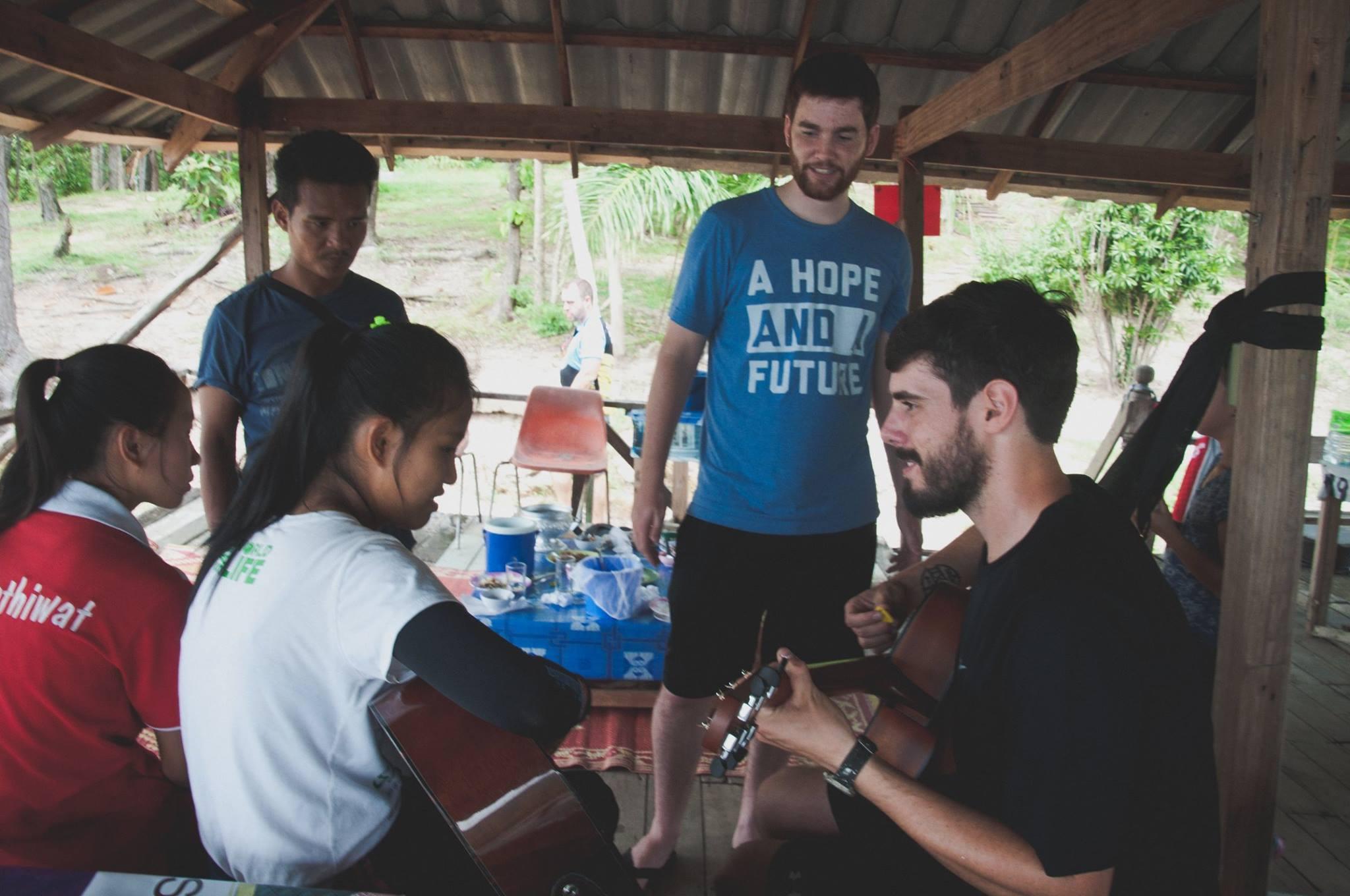 Justin Willet in Thailand