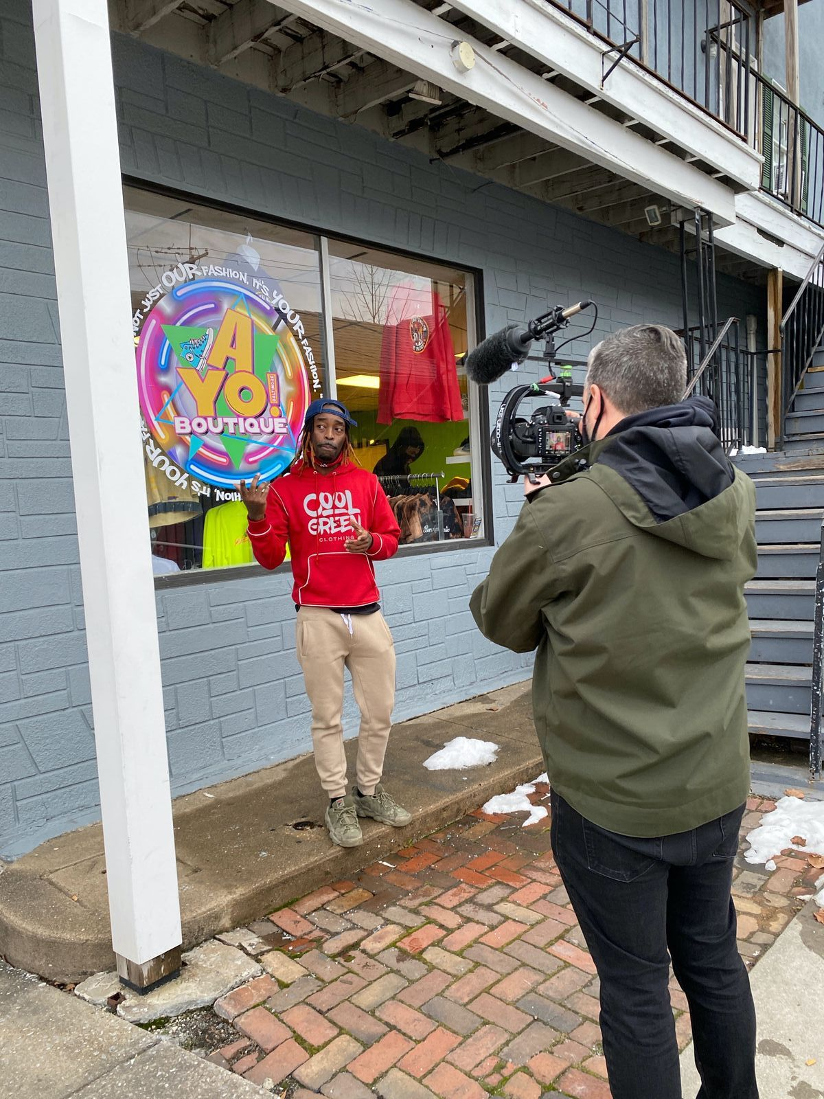 AYO Boutique Video - February 2021 Hey Westminster Grant Recipient
