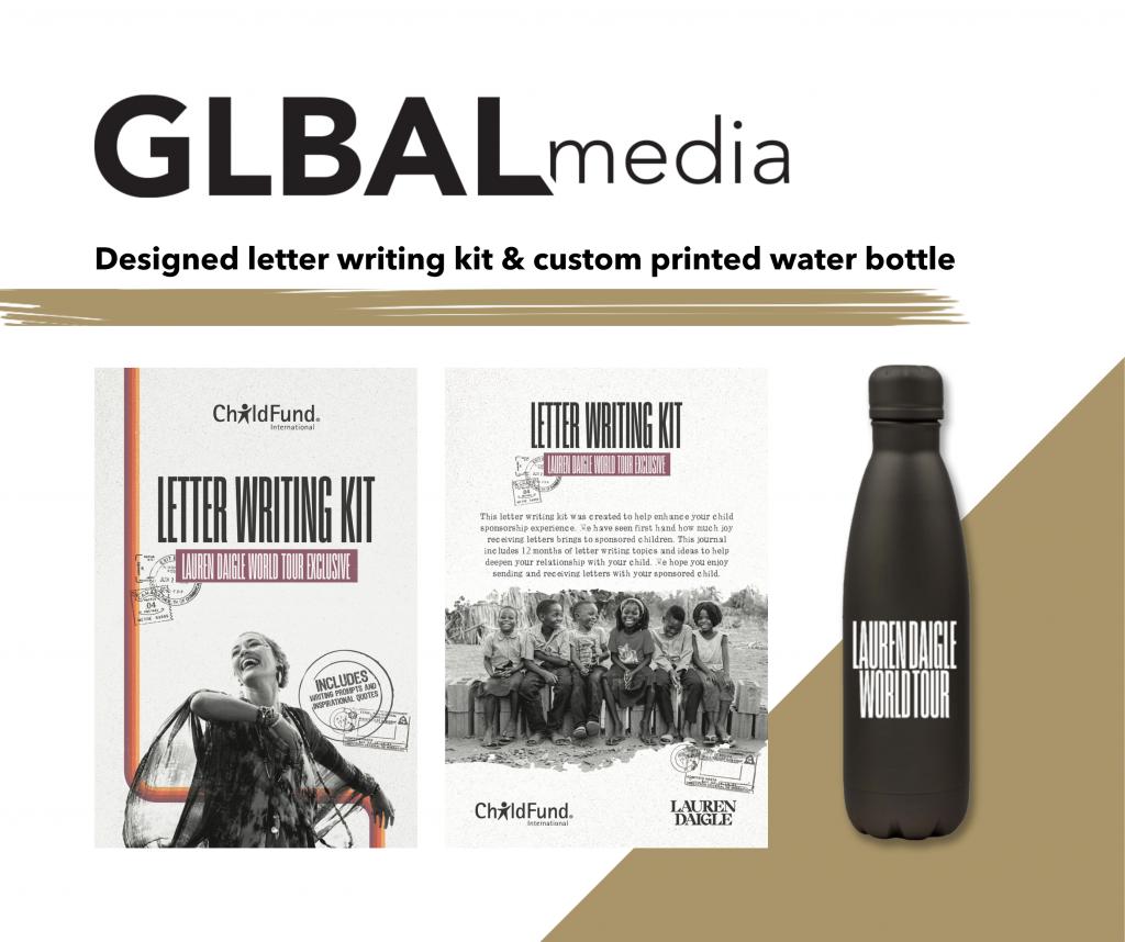 Lauren Diagle Child Fund GLBAL media
