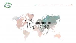 Third Culture Thriving website screenshot