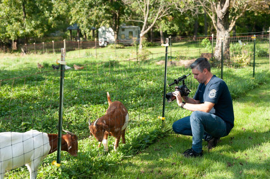 Fiddlers Green Farm Video - Hey Westminster GLBAL media behind the scenes