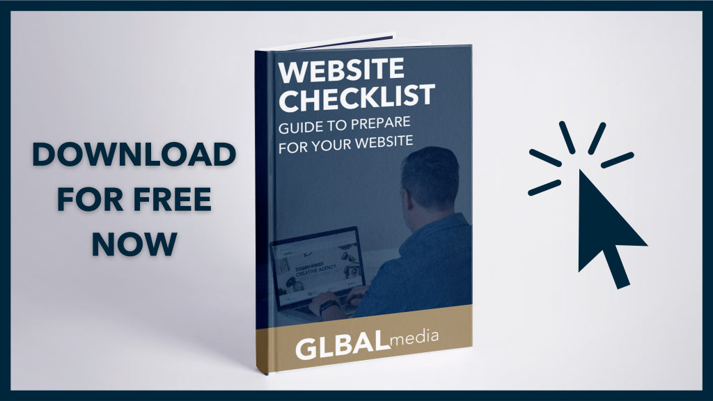 Website checklist guide free download GLBAL media