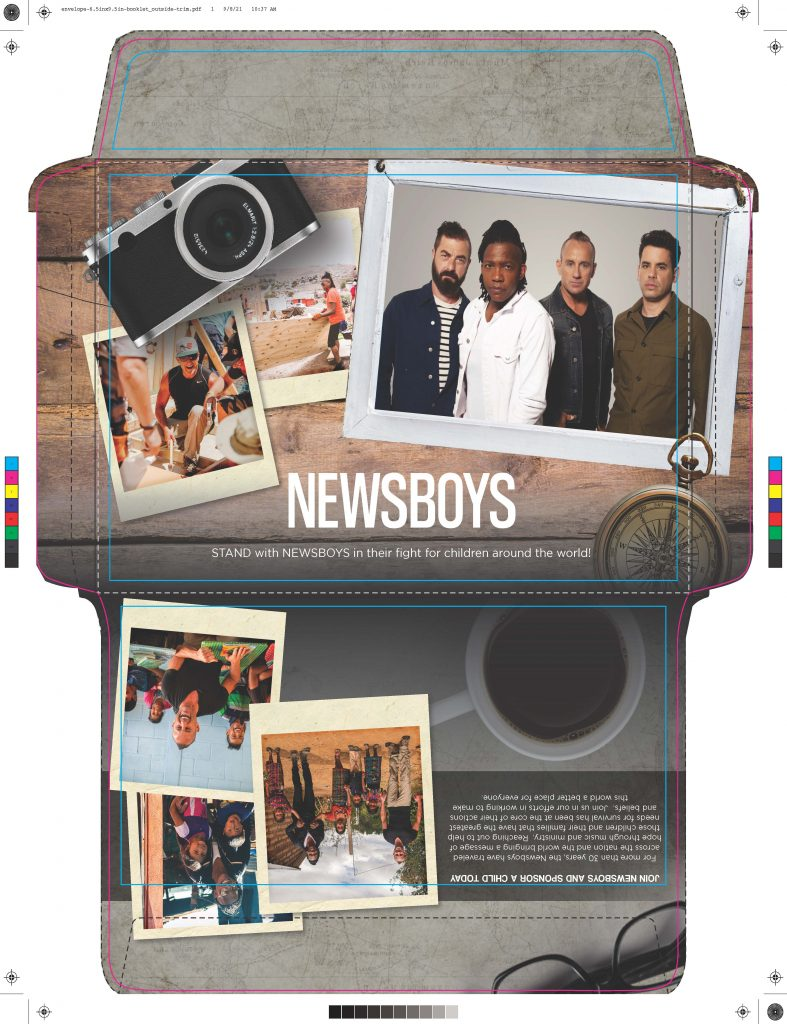 Newsboys ChildFund content by GLBAL media