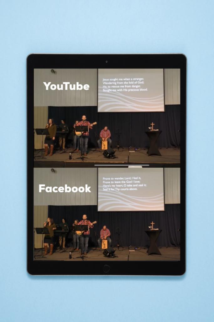 livestreaming to multiple platforms