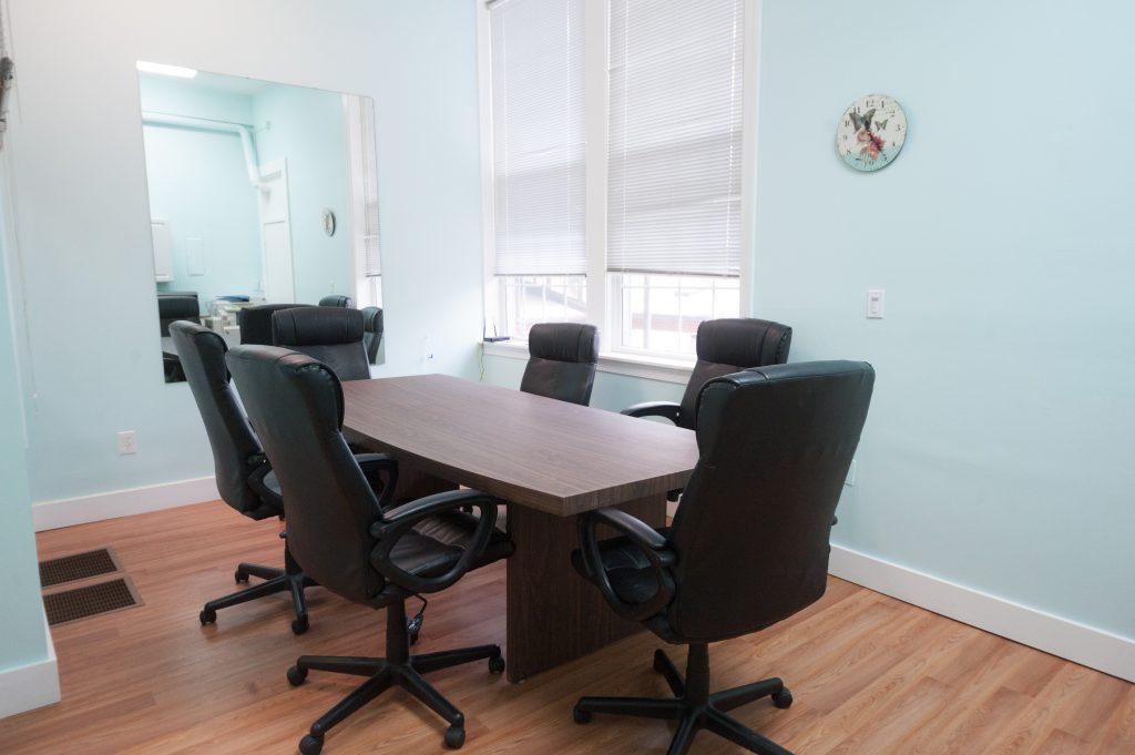 Together Studios meeting room